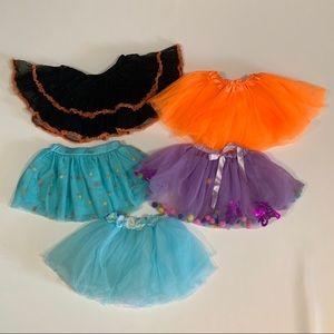 🌻2/$12 Lot of 5 Tutu Skirts